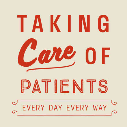 Picture stating taking care of patients every day every way- one stop shop sulphur la- family clinc sulphur louisiana- schlamp family medical clinic